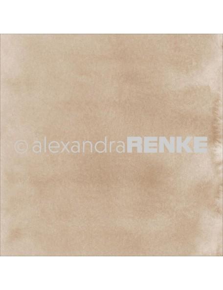 Alexandra Renke Cardstock de una cara 30,5x30,5 cm, Mimi's Basic Gold Watercolor