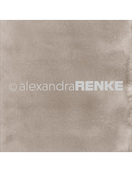 "Alexandra Renke Mimi's Basic Design Paper 12""X12"" , Dark Porcini Watercolor"