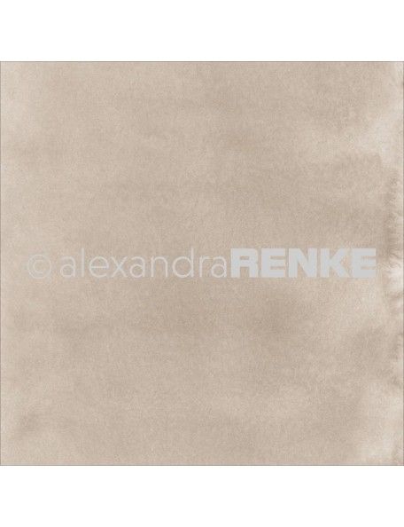 "Alexandra Renke Mimi's Basic Design Paper 12""X12"" , Bright Mud Watercolor"