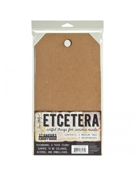 "Tim Holtz Etcetera Medium Tag 6.5""X12"""