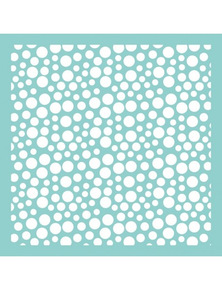 "Kaisercraft Template 12""X12"" Bubbles"