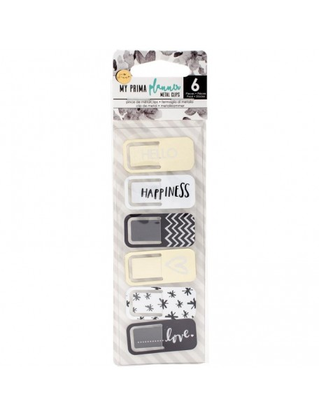 My Prima Planner Metal Clips 6