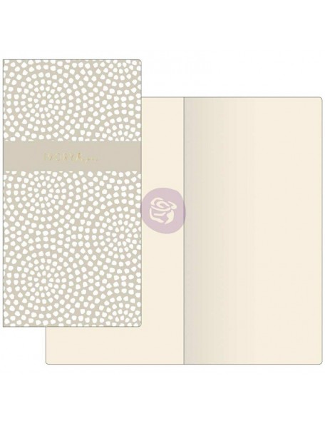 Prima Traveler's Journal Notebook Refill 32 Sheets Dotted Circles W/Ivory Paper