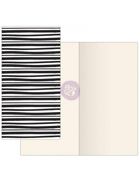 Prima Traveler's Journal Notebook Refill 32 Sheets Inkie W/Ivory Paper