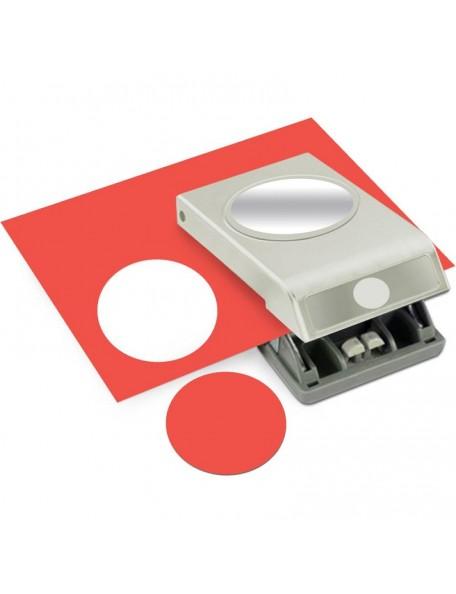 """Ek Tools Troqueladora para hacer círculos del tamaño 2.5"""""""