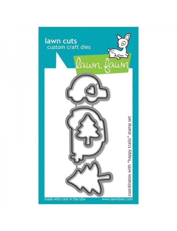 Lawn Fawn Cuts Custom Craft Die, Happy Trails