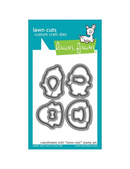 Lawn Cuts Custom Craft Die-Snow Cool