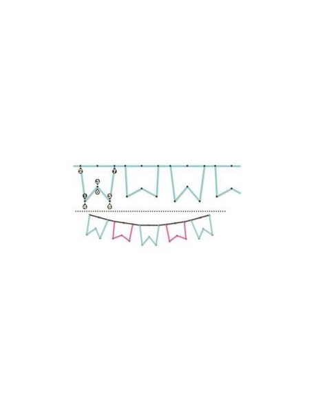 We R Memory Keepers Sew Easy Large Stitch Piercer Banners