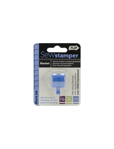 We R Memory Keepers Sew Stamper Stitch Head Blanket