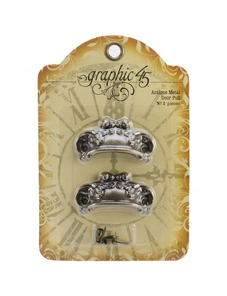 Graphic 45 - Ornate Staples Door Pull