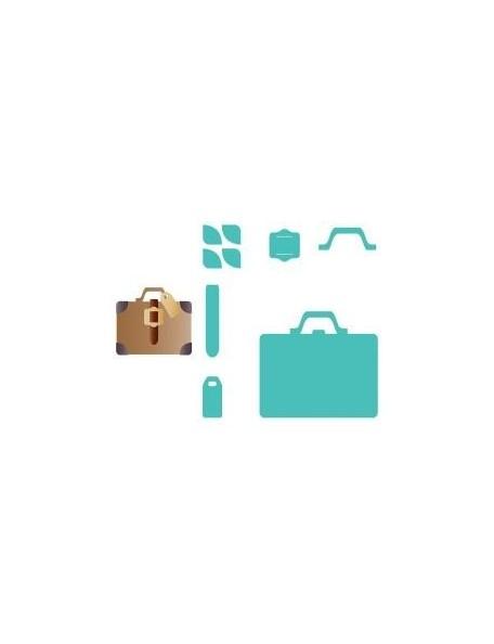 """Sizzix Bigz Die 5.5""""X6"""" Suitcase"""