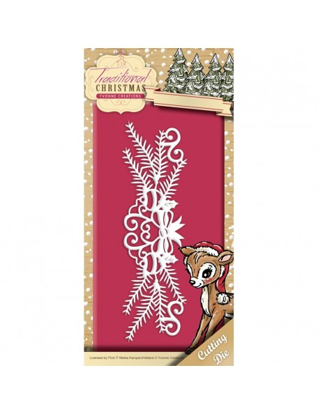 Yvonne Creations Find It Trading Traditional Christmas Die