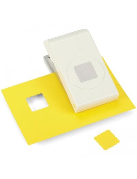 """Ek Tools Troqueladora para hacer cuadrados en forma de Scallop en 1"""""""