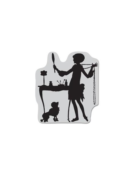 """Hero Arts Cling Stamps 2.5""""X2.5"""", Getting Ready"""