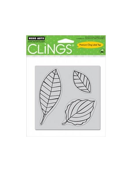 Hero Arts Cling Set, Three Leaves