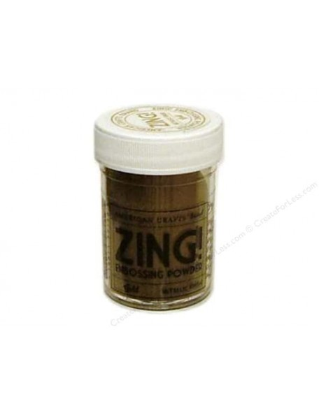 American Crafts Zing! Metallic Embossing Powder 1Oz Gold