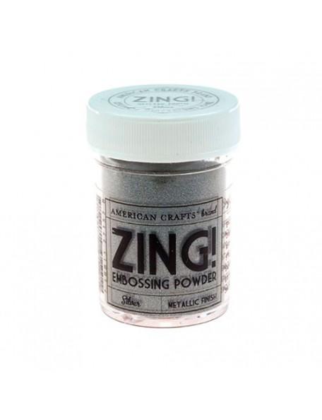 American Crafts Zing! Metallic Embossing Powder 1Oz-Silver