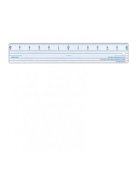 "Westcott Plastic Ruler 12"""