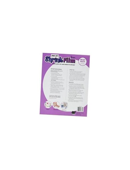 "Ink Jet Shrink Film 8.5""X11"""