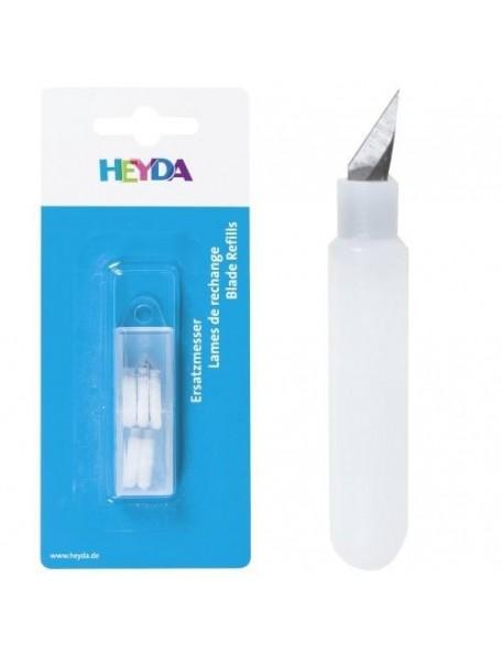 Heyda Recambio cuchillas de cúter