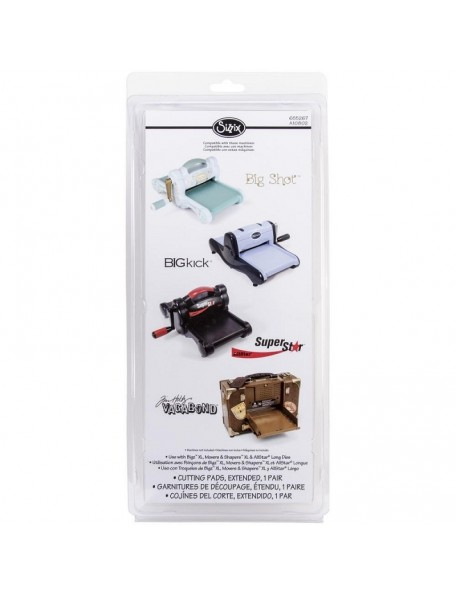 "Sizzix Solo Wafer Thin Die Adapter 6.25""X13""X1.25"""