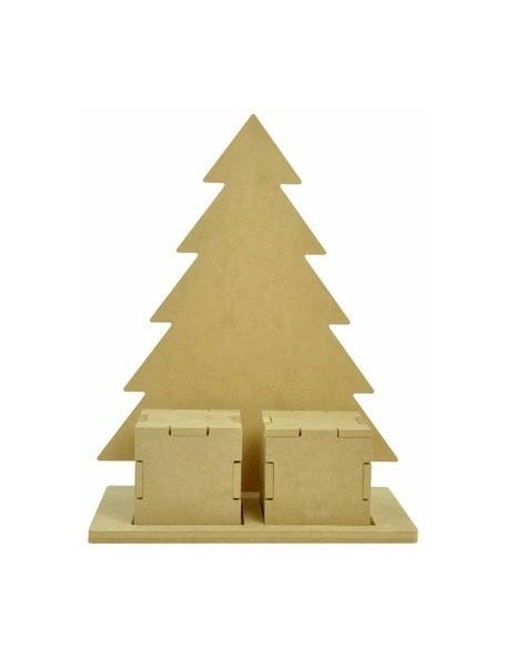 "Beyond The Page Mdf Christmas Countdown Tree 9.75""X5""X13"""