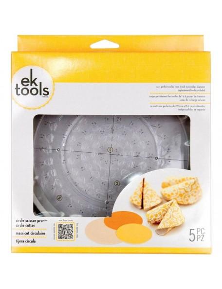 Ek Tools Corta círculos en varios tamaños