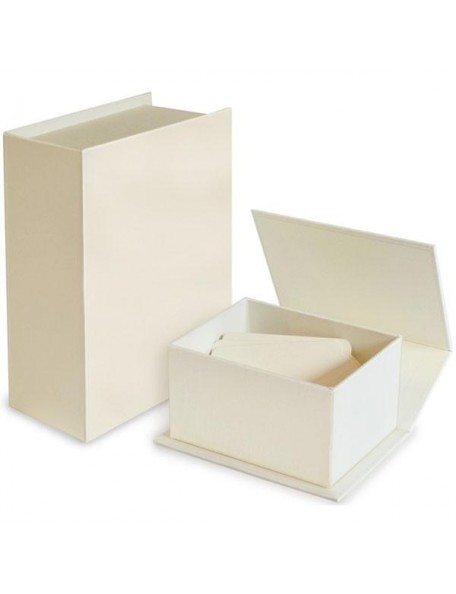 "Graphic 45 Book Box 4,625""x6,625"", Blanco"