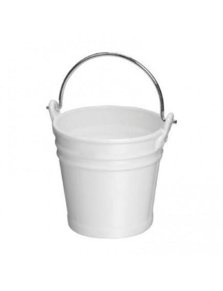 Knorr Prandell White Porcelain Bucket - 7,5 cm x 8 cm