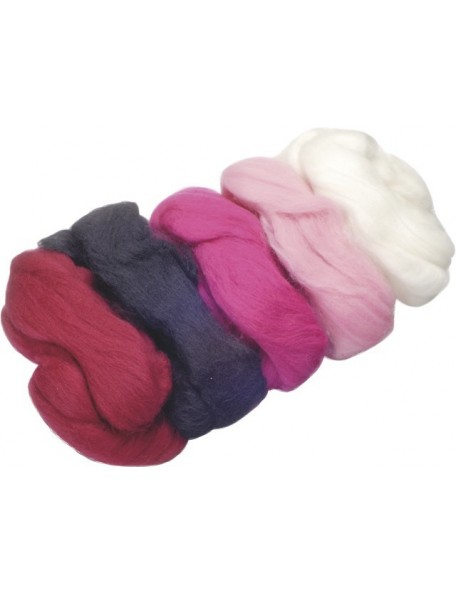 Know Merino Wool Extra Fine 50G Rs/Pink