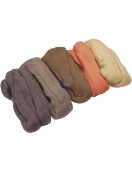 Knorr Merino Wool Extra Fine 50G Brown