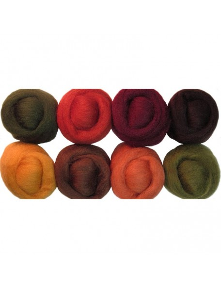 """Wistyria Editions - Timberland Wool Roving 12"""""""