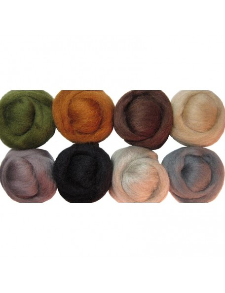 Wistyria Editions - Rustic Wool Roving 12""