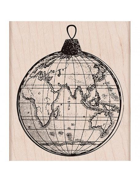 Hero Arts World Ornament Woodblock Stamp