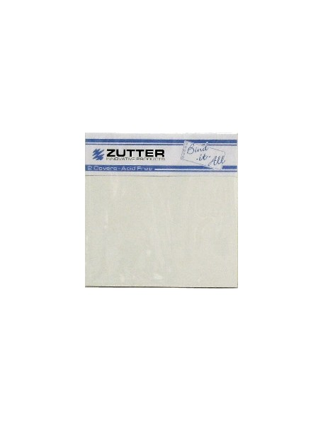 """Zutter Covers White 6.2""""x6.2"""""""