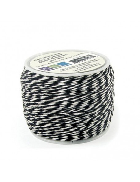 We R Memory Keepers Sew Easy Baker'S Twine Spool 50Yd Black