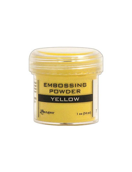 Ranger Embossing Powder Yellow (34 ml)