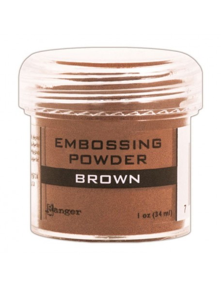 Ranger Embossing Powder Brown (34 ml)