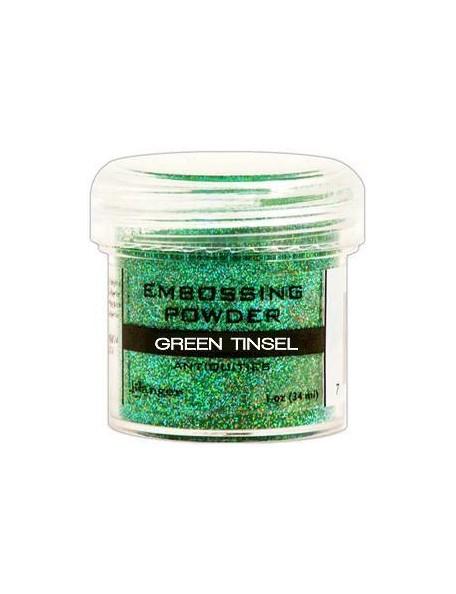 Ranger Embossing Powder Green Tinsel (18 gr)