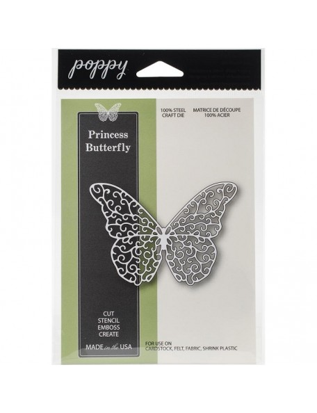 Memory Box Butterfly Princess, Troquel