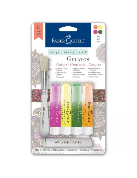 Faber-Castell Mix & Match Gelatos Designer Series 4/Pkg Bali