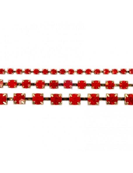 Prima Marketing Sandra Evertson Relics & Artifacts Rhinestone Chains 3, Ruby