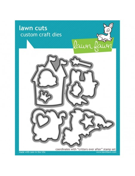 Lawn Cuts Custom Craft Die, Critters Ever After