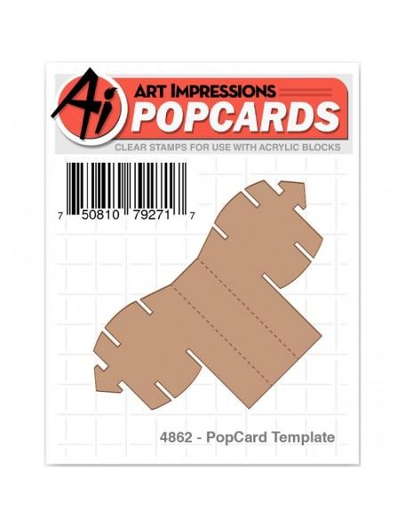 Art Impressions PopCard Template