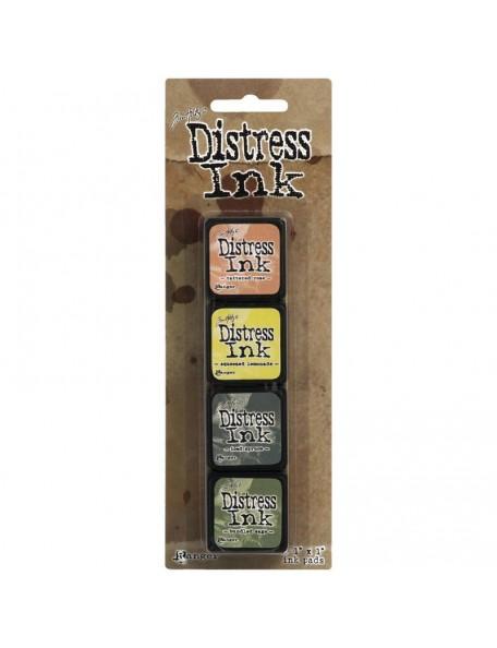 Tim Holtz Distress Mini Ink Pads Kit 10