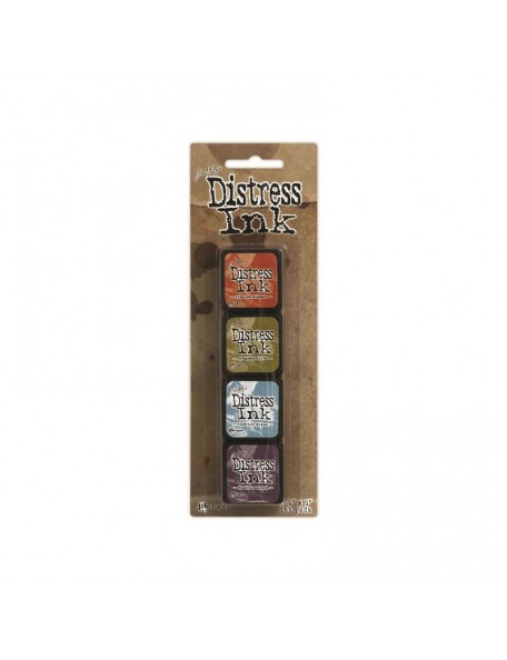 Ranger Mini Distress Ink Pad Kit 8