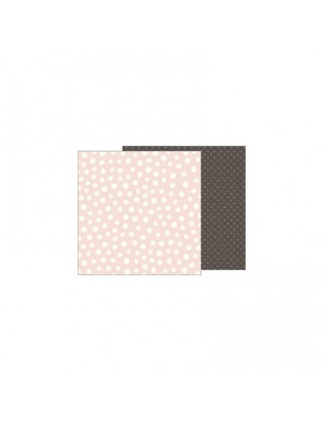 "Jen Hadfield Heart Of Home Cardstock de doble cara 12""X12"", Painted Dots"