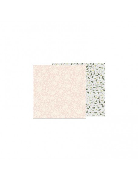"Jen Hadfield Heart Of Home Cardstock de doble cara 12""X12"", Heirloom Floral"