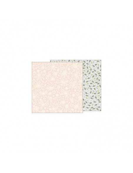 "Jen Hadfield Heart Of Home Cardstock de doble cara 12""X12"", Heirloom Floral"