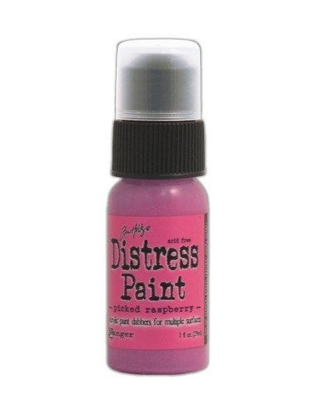 Ranger Tim Holtz Distress Paint Picked Raspberry (29 Ml)